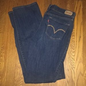 Levi's jeans perfectly slimming 512 straight leg